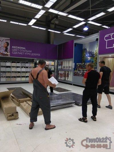 Сборка торгового оборудования