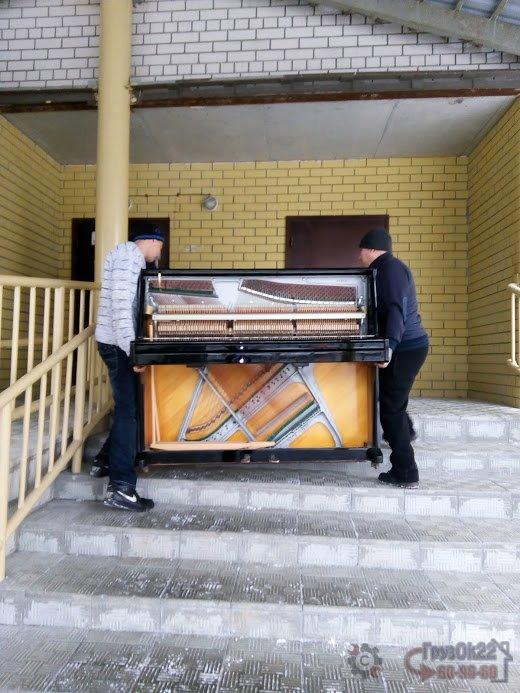 Перевозка пианино в Барнауле