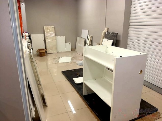 Сборка торговой мебели для Ситилинк
