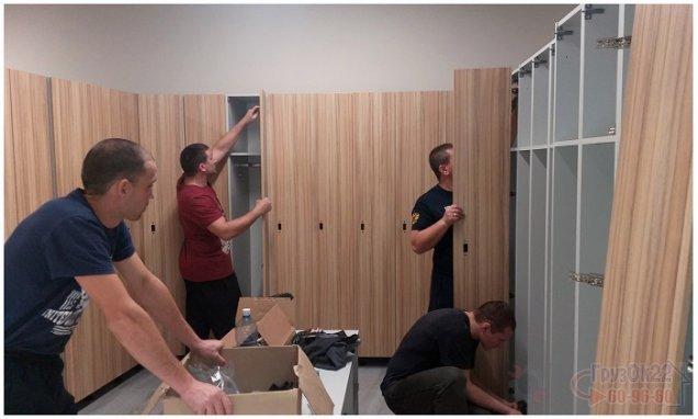 "Сборка мебели в Барнауле, фитнес клуб ""X-Fit"""